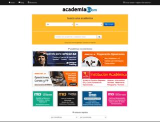 academias.com screenshot