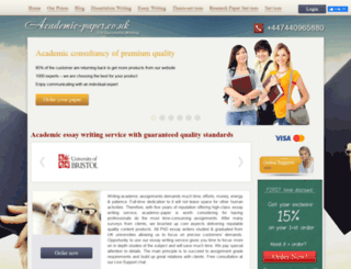academic-paper.co.uk screenshot