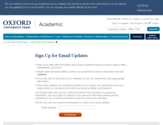 academic-preferences.oup.com screenshot