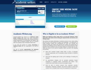 academic-writers.org screenshot
