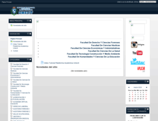 academica.umecit.edu.pa screenshot