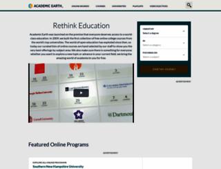 academicearth.org screenshot