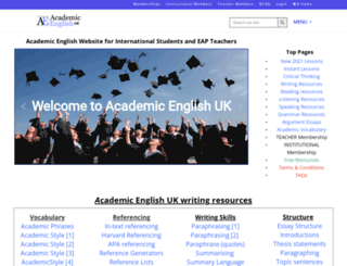academicenglishuk.com screenshot