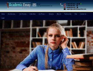 academicessaywriters.com screenshot