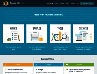 academichelp.net screenshot