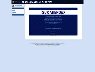 academico.isur.edu.pe screenshot