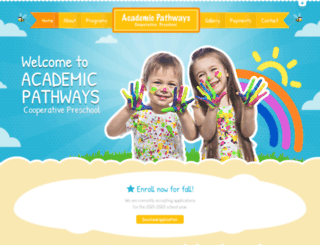 academicpathwayspreschool.com screenshot
