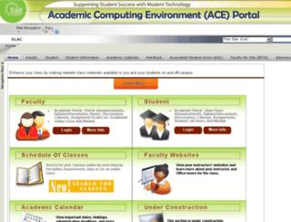 academicportal.elac.edu screenshot