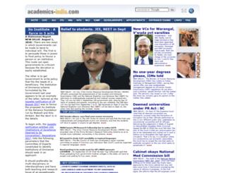 academics-india.com screenshot