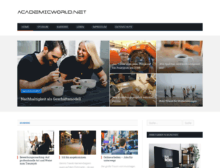 academicworld.net screenshot