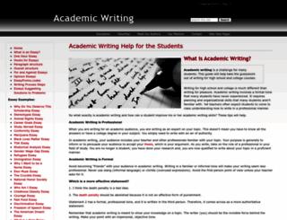 academicwriting.wikidot.com screenshot