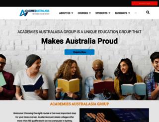 academies.edu.au screenshot