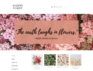 academy-florists.com screenshot