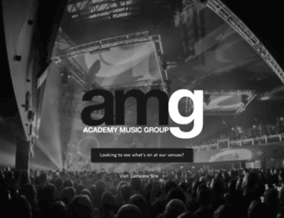 academy-music-group.co.uk screenshot
