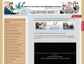 academy-of-vocational-and-professional-training.org screenshot