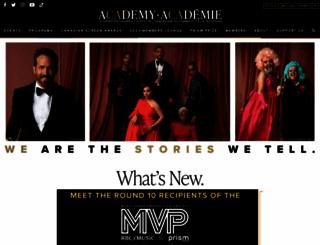 academy.ca screenshot