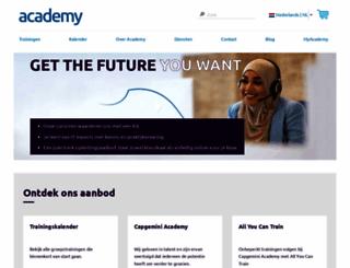 academy.capgemini.nl screenshot