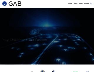 academy.gab-corporation.com screenshot