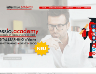 academy.intercessio.de screenshot