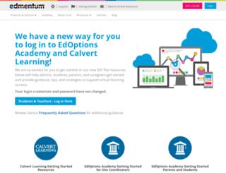 academy.platoweb.com screenshot