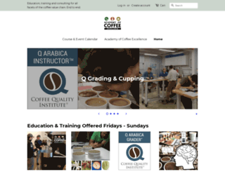 academyofcoffee.com screenshot