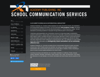 academypublishing.com screenshot