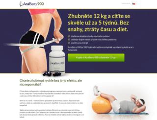 acaiberry900.cz screenshot
