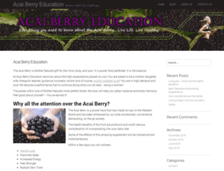 acaiberryeducation.com screenshot