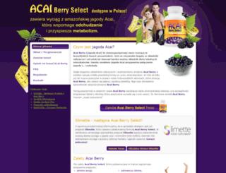 acaiberryselect.pl screenshot