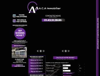 acaimmo.com screenshot