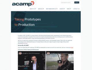 acamp.ca screenshot