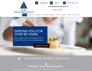 acandr.com.au screenshot