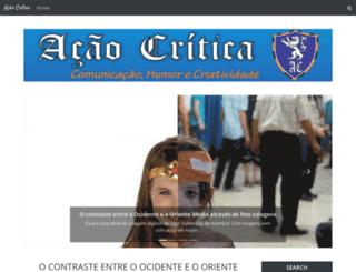 acaocritica.blogspot.com.br screenshot