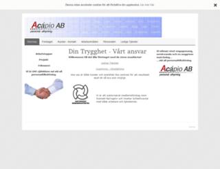 acapio.com screenshot