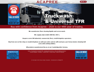 acapree.com screenshot