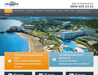 acapulcohotel.kibrisda.com screenshot