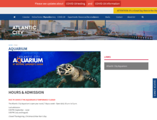 acaquarium.com screenshot