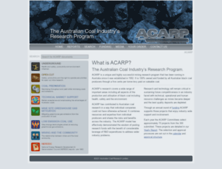 acarp.com.au screenshot