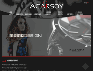 acarsoysaat.com screenshot