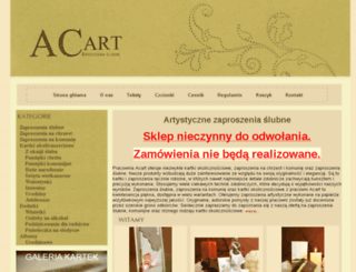 acart.pl screenshot