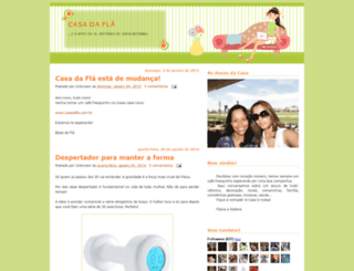 acasadafla.blogspot.com screenshot