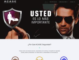 acaseseguridad.com screenshot