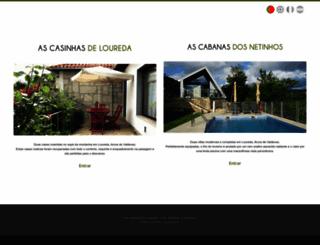 acasinhadeloureda.com screenshot