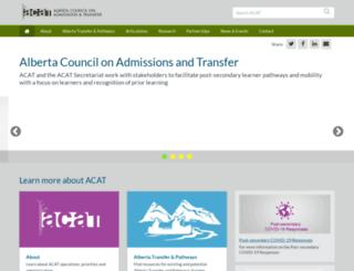 acat.gov.ab.ca screenshot