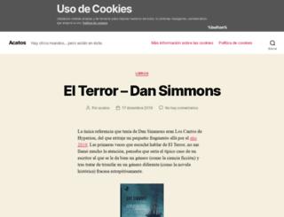 acatos.es screenshot