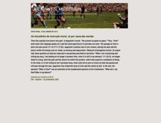 acausafoimodificada.blogs.sapo.pt screenshot