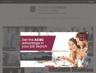 acbc.nsw.edu.au screenshot