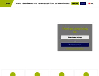 acbs.com.vn screenshot