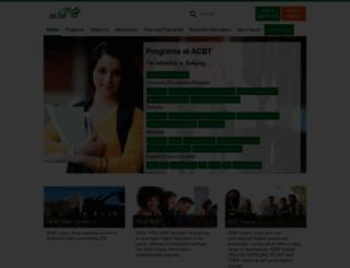 acbt.net screenshot