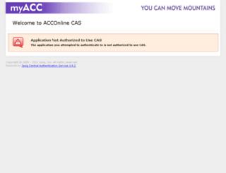 acc.desire2learn.com screenshot